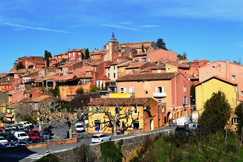 Roussillon Luberon France self guided walking tours